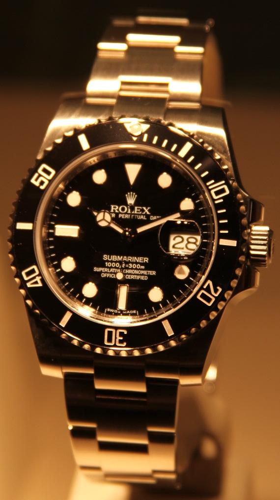 Orologio Replica Rolex Submariner In Acciaio