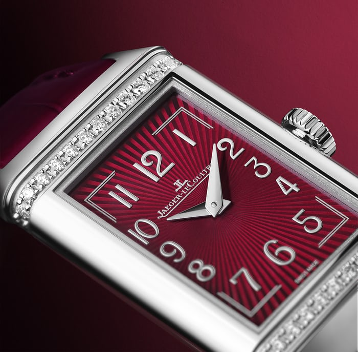 Jaeger LeCoultre Reverso One Red Wine Replica