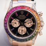 Repliche Rolex Rainbow Daytona in oro Everose