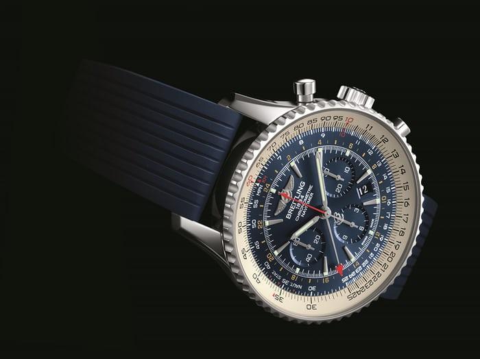 Replica Breitling Navitimer GMT Aurora Blue