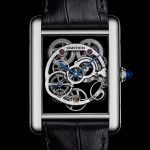 Cartier Replica – Tank Louis Cartier Sapphire Skeleton