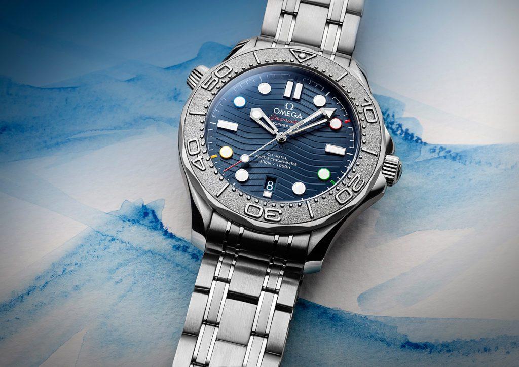 Repiche Omega Seamaster Diver 300M Beijing2020