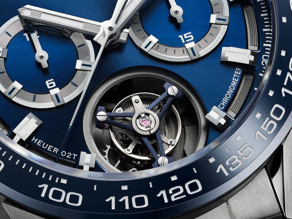 TAG Heuer Carrera Heuer 02T Titanium Blu Replica